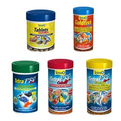 Tetra Goldfish and Tropical Fish Food
