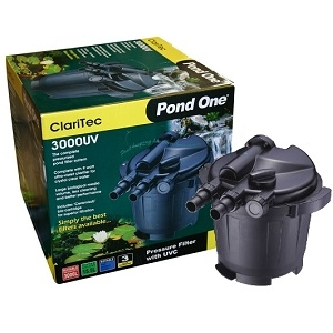 Pond one claritec 3 000 intake outlet nuts fast for Pond intake filter