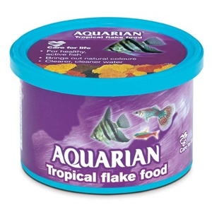 Aquarian Tropical Flake Food 50g