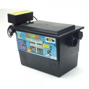 Kockney koi mega pond filter 11 uv 1500 gallons fast for Koi pond gallons