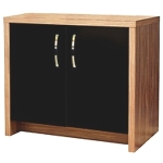 Aqua One AquaVogue 170 Walnut Cabinet With Black Door (AquaOpti 150)
