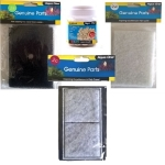 Aqua One AquaStyle 510 Filter Media Set (2c,2s,2w) + Noodles 250g
