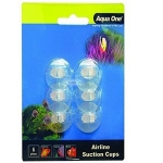 Aqua One Airline Suction Cups 6pk with 5 metres of Airline