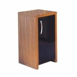Aqua One Inspire 40 Walnut Cabinet With Black Door (Panoramic 30)