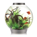BiOrb Classic 105 Aquarium  with Multi-Coloured Remote Control Silver