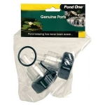 Pond One ClearTec UVC Inlet/Outlet Set 9w (11681)
