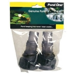 Pond One ClearTec UVC Inlet/Outlet Set 11w (11682)