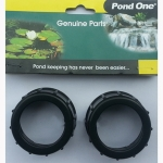 Pond One ClariTec 3,000 Intake / Outlet Nuts