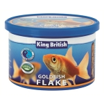 King British Gold Fish Flake Food 55G