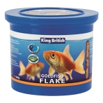 King British Gold Fish Flake Food 200G