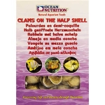 Ocean Nutrition Frozen Clam on the Half Shell 100gx 6 packs