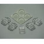 Eheim Glass Clips and Rubber Feet 7428858