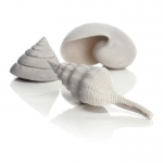 BiOrb Sea Shells Set of 3 Ornament Decor  White 46133