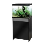 Aqua One Lifestyle 52 Aquarium & Cabinet Set Gloss Black & Moon Grey