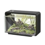 Superfish Home 25 Aquarium in Black