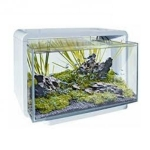 Superfish Home 25 Aquarium in White