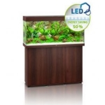 Juwel Rio 240 LED Aquarium & Cabinet - Dark Wood