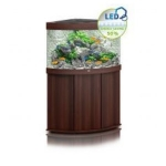 Juwel Trigon 190 LED Aquarium & Cabinet - Dark Wood