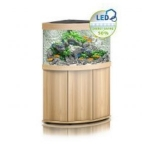 Juwel Trigon 190 LED Aquarium & Cabinet - Light Wood